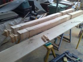 2b. During Work - Wood Restoration